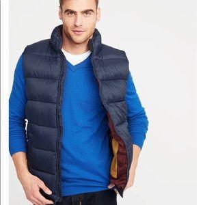 Men's frost free puffer vest